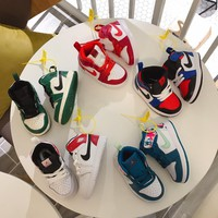 Child Air Jordan Girls Boys shoes Children boots Baby Sandle Toddler Kids Child Fashion Casual  Sneakers Sport Children's Shoes