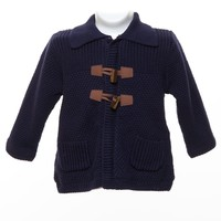 Mayoral - Deep Blue Cardigan for Baby Boy