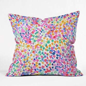 Jacqueline Maldonado Lighthearted Pastel Throw Pillow