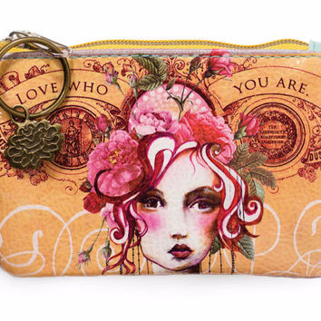 Rose Small Coin Purse