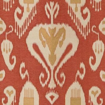 Kravet Couture Fabric 30060.1612 Gilded Ikat Spice