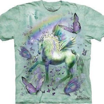Unicorn And Butterflies Kids T-Shirt
