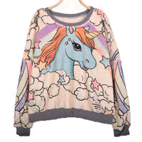 Lovely fleece female long sleeves