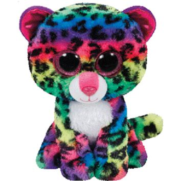 TY Beanie Boos Dotty the Leopard - Small, 6""