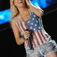 Carrie Underwood Stars and Stripes Poster 11x17