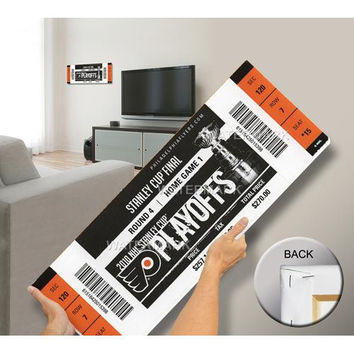 2010 Stanley Cup Mega Ticket - Philadelphia Flyers