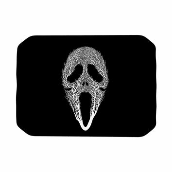"BarmalisiRTB ""The Scream Tree"" Black White Place Mat"
