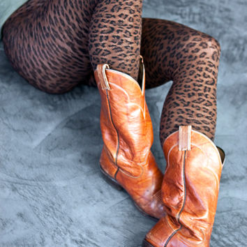 Sock Dreams - Leopard Texture Tights