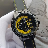 8DESS Ferrari Woman Men Fashion Quartz Movement Wristwatch Watch
