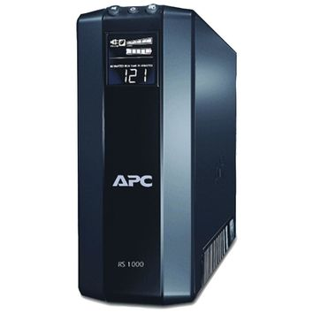 Apc Power Saving Back Ups Rs System (output Power Capacity: 1,000va And 600w; 8 Outlets--4 Ups And Surge, 4 Surge Only)