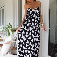 Manogramania Maxi Dress