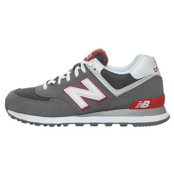 New Balance ML574GRW - Grey/Red/White