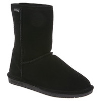 "Womens Emma 8"" Boot by BEARPAW in color Solid Black"