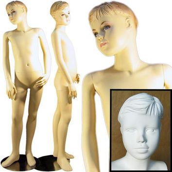"""MN-124 Young Teenage Boy Standing Mannequin 4' 7"""""""