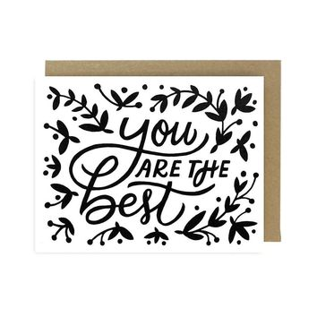 Worthwhile Paper - You Are The Best Card