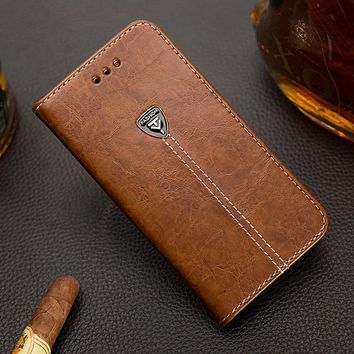EFFLE Luxury Magnetic Case For Microsoft Nokia Lumia N720 Flip PU Leather Case For Nokia 720 Phone Cover