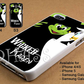 Mickey Wicked Design for iPhone 4/4s/5 Case, Samsung Galaxy S3/S4 Case