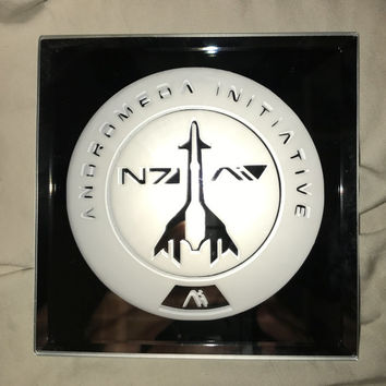 Mass Effect Adromeda Initiative Limited Edition Mirror Glass Etching