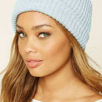 Ribbed Knit Beanie