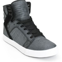 Supra Skytop Metallic Skate Shoes