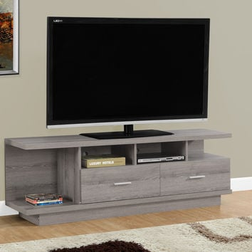 "Tv Stand - 60""L / Dark Taupe"