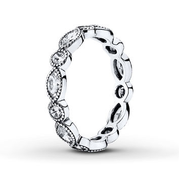 PANDORA Ring Brilliant Marquise Sterling Silver