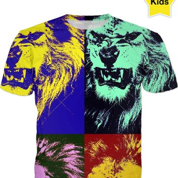 Jungle King 02 Kids Tee