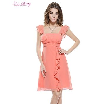 Summer Style Cocktail Dresses Ever Pretty HE03337 Sexy Short Elegant Knee Length Fast Shipping New Arrival Party Dress 2016