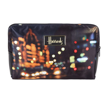 Street Lights Cosmetic Bag by Harrods