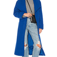 Lovers + Friends x REVOLVE Maddie Coat in Cobalt