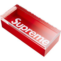 Supreme: Lucite Box - Red