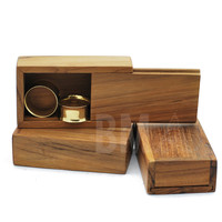 Hand Crafted Wooden Boxes for Plugs