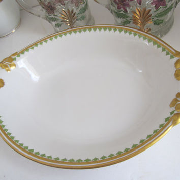 Limoges China Bowl Wm Guerin & Co France Limoges French Antiques Limoges Bowls Large Serving Bowl Fancy Dishes Luxury Tableware Fine Dining