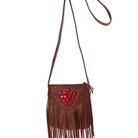 Indio Fringe Small Crossbody Bag - Handbags - Lucky Brand Jeans