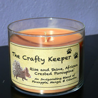 Rise and Shine, African Crested Porcupine! Candles for Conservation