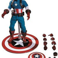 Mezco Toys One:12 Collective: Captain America Action Figure