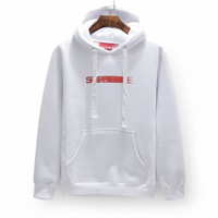 Supreme Faded Logo Hoodies