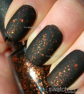 NOTD: China Glaze ? Fortune Teller with Essie Matte About You   The Swatchaholic . a blog about nail polish and makeup