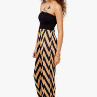 A'GACI Smocked Zig Zag Jumpsuit - Festival Favorites