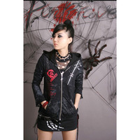 Aliexpress.com : Buy Punk Rave Gothic Visual Kei Womens Mens Black Coat Jacket Steampunk S M L XL Y23 from Reliable coat jacket suppliers on Punk Rave Store