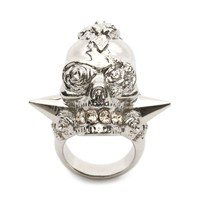 Punk Rose Ring Alexander McQueen | Ring | Jewelry |
