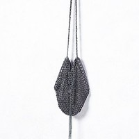 Kenny Ma Womens Vines of Ivy Chainmail Bag