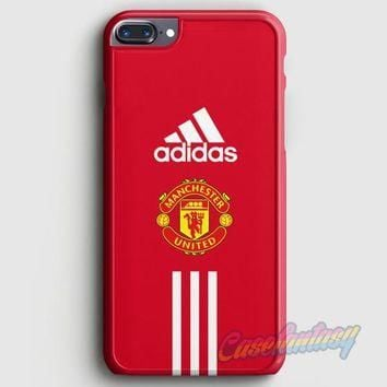 Manchester United Adidas Wallpaper iPhone 7 Plus Case | casefantasy