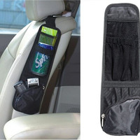 Car Driver's Seat Side Storage Pocket (Black)