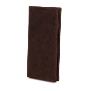 Brown Bifold Full Grain Leather Wallet LH1491