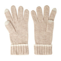 FOREVER 21 Ribbed Knit Texting Gloves