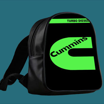 cummins turbo diesel for Backpack / Custom Bag / School Bag / Children Bag / Custom School Bag ***