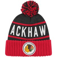 High 5 BeanieChicago Blackhawks - Mitchell & Ness