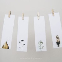 Bookmarks Set  Natural Series I Nature photography by MilesOfLight