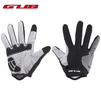 GUB 2025 Cycling Gloves Men Paired Touch Screen Cycling Warm Winter Cycling Gloves Full Finger For Outdoor Sport Bike Riding